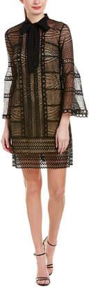 Carolina Herrera Silk-Lined Cocktail Dress