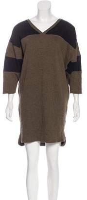 IRO Mini Colorblock Sweater Dress