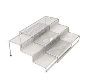 MINDREADER Mind Reader 2-Piece 3-Tier Kitchen Spice Shelf