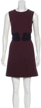 Dolce & Gabbana Virgin Wool Mini Dress