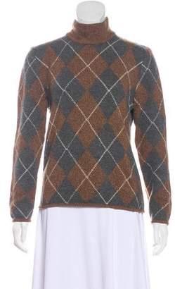 Valentino Knit Long Sleeve Turtleneck