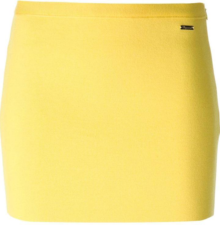 DSquared DSQUARED2 straight mini skirt