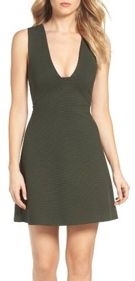 Women's French Connection Olitski Fit & Flare Dress $168 thestylecure.com