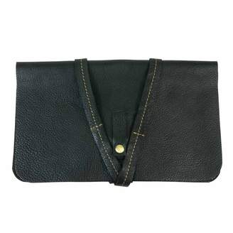 N'Damus London - Black iPad Mini Sleeve with Leather Rope