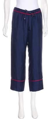 Moncler Silk Cropped Pants w/ Tags