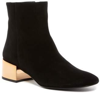 Ivy Kirzhner Ringo Metallic Block Heel Boot