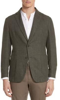 Ermenegildo Zegna Trim Fit Linen & Cotton Blazer