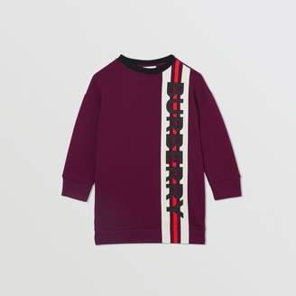 Burberry Childrens Logo Print Jersey Sweater Dress