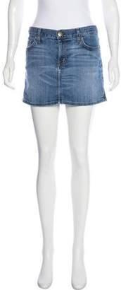 Current/Elliott Mini Denim Skirt