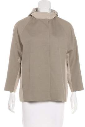 Cinzia Rocca Hooded Lightweight Jacket