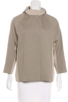 Cinzia Rocca Hooded Lightweight Jacket
