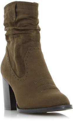 Head Over Heels RAILEY - Western Slouch Calf Boot