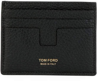 Tom Ford Men's Leather Card Holder