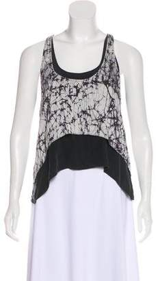 Alexis Silk Printed Sleeveless Top