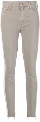 Mother side stripe skinny jeans