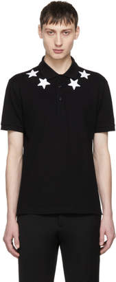Givenchy Black Stars Polo