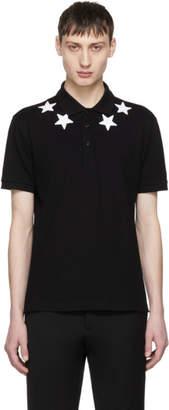 Givenchy Black Stars Polo