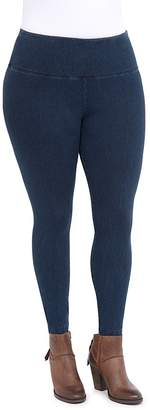 Lysse Plus Denim-Look Leggings