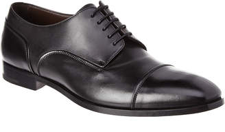 Ermenegildo Zegna Riccardo Leather Derby Shoe