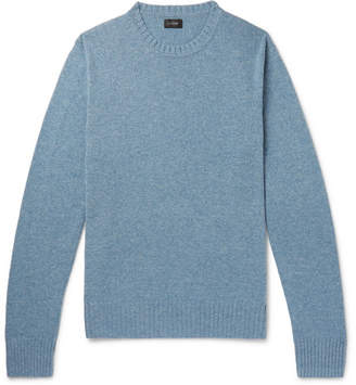 J.Crew Wool-Blend Sweater - Blue