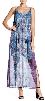 London Times Paisley Patterned Maxi Dress