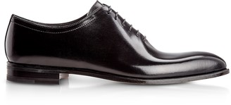 Moreschi Montreal Black Antiqued Calfskin Oxford Shoes