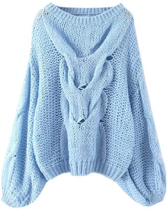 Goodnight Macaroon 'Prima' Loose Knit Slouchy Sweater (2 Colors)