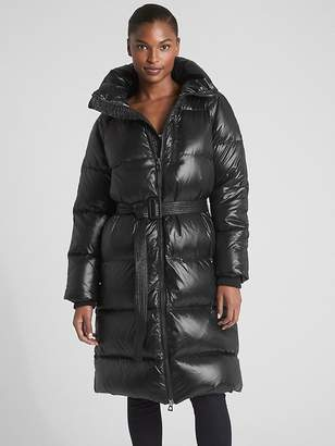 Gap Long Down High-Shine Puffer Coat