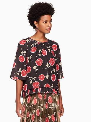 Kate Spade Hazy rose double layer top