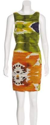 Alice + Olivia Silk Printed Dress