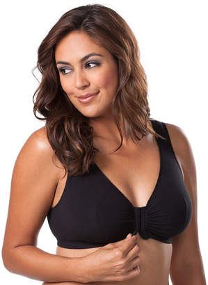 Leading Lady Cotton Front-Close Lounge & Sleep Bra