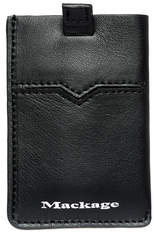 Mackage Rocci Leather Card Sleeves In Black