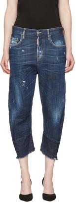 Dsquared2 Blue Kawaii Jeans $690 thestylecure.com
