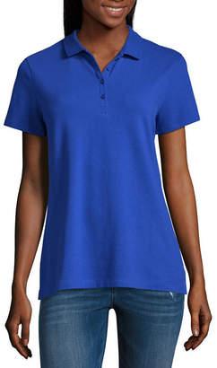 ST. JOHN'S BAY Short Sleeve Polo - Tall