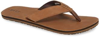 Reef 'Grom' Leather Flip-Flop