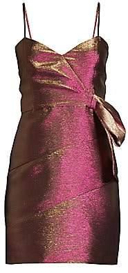 Parker Black Women's Rita Metallic Mini Dress