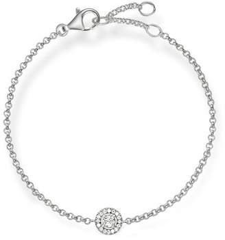 Thomas Sabo Women's Silver Zirconia Adjustable Bracelet of Length 16.5-19.5cm SCA150001