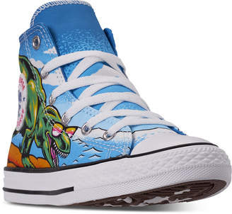 3531bf09adda Converse Little Boys  Chuck Taylor All Star High-Top Casual Sneakers from Finish  Line