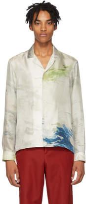 Daniel W. Fletcher Grey Painting Pyjama Shirt