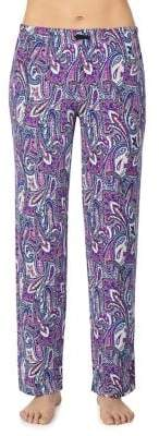 Ellen Tracy Paisley-Print Pajama Bottom