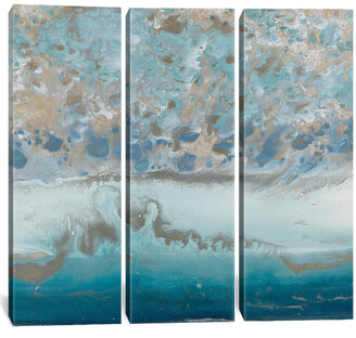icanvasart The Keys I Wisteria Triptych Canvas Art By Blakely Bering