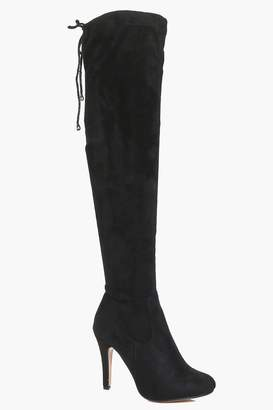 boohoo Willow Stiletto Over The Knee Boots