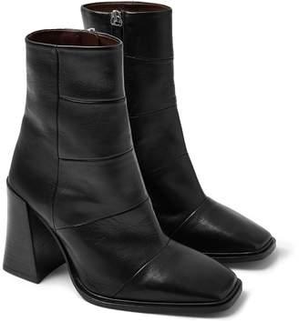 Topshop Hartley Square Toe Boot