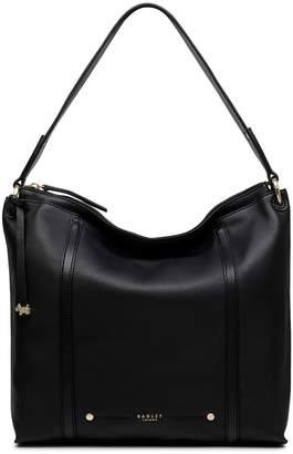 206583f67b5d Next Womens Radley London Black Kew Palace Large Ziptop Hobo Bag