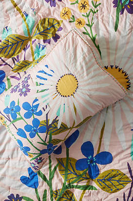 Anthropologie Tara Lily Sun-Soaked Florals Kids Sham