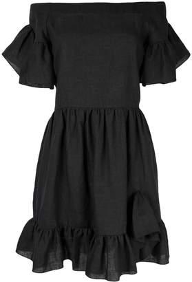 GOEN.J ruffled off-the-shoulder dress