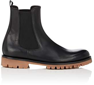 Barneys New York MEN'S LEATHER CHELSEA BOOTS