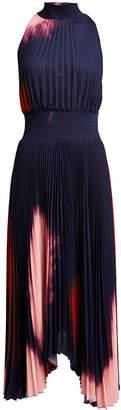 A.L.C. Renzo Ombre Tie-Dye Dress