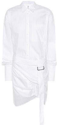 Helmut Lang Pulled Up cotton shirt dress