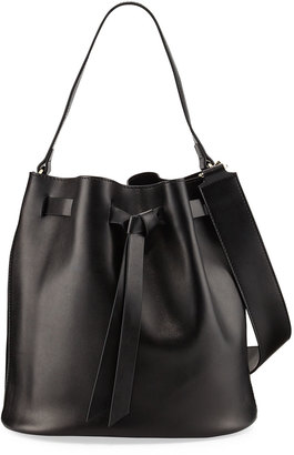 KC Jagger Adele Large Leather Bucket Bag $120 thestylecure.com